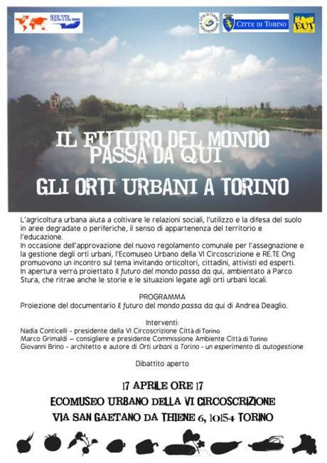orti urbani a Torino